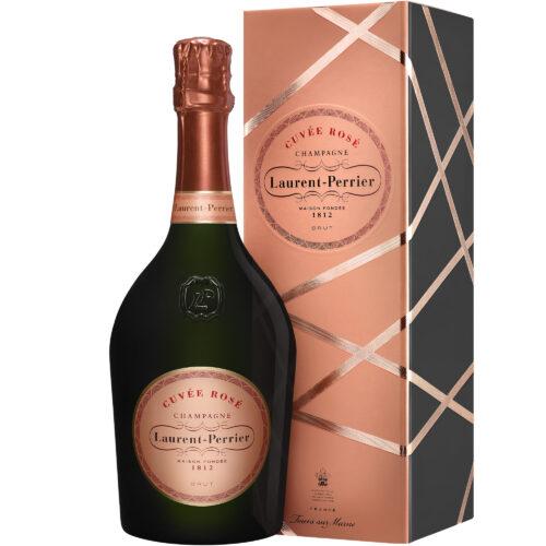Champagne Laurent-Perrier Cuvée Rosé bouteille avec coffret - Champmarket