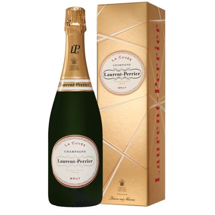 Champagne Laurent-Perrier La Cuvée Bouteille avec étui - Champmarket