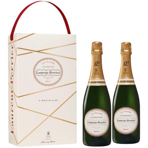 Champagne Laurent-Perrier La Cuvée Coffret 2 Bouteilles - Champmarket