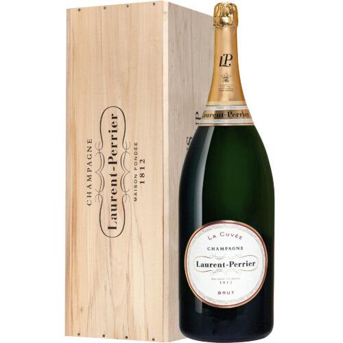 Champagne Laurent-Perrier La Cuvée Mathusalem avec Caisse Bois - Champmarket