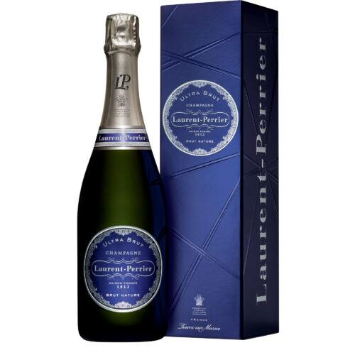 Champagne Ultra Brut Laurent-Perrier Bouteille avec étui - Champmarket