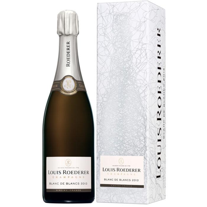 Champagne Louis Roederer Blanc de Blancs 2013 Bouteille avec étui - Champmarket