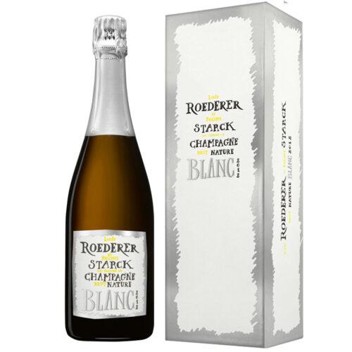 Champagne Louis Roederer Brut Nature 2012 par Philippe Starck - Champmarket