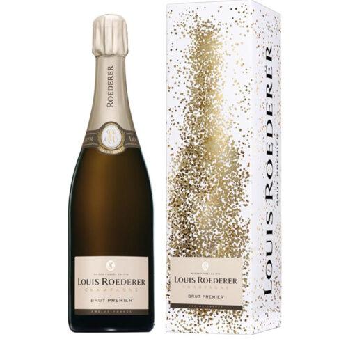 Champagne Louis Roederer Brut Premier Bouteille avec étui - Champmarket