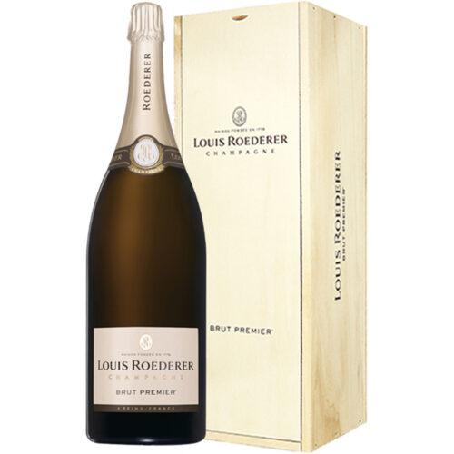 Champagne Louis Roederer Brut Premier Mathusalem avec caisse bois - Champmarket