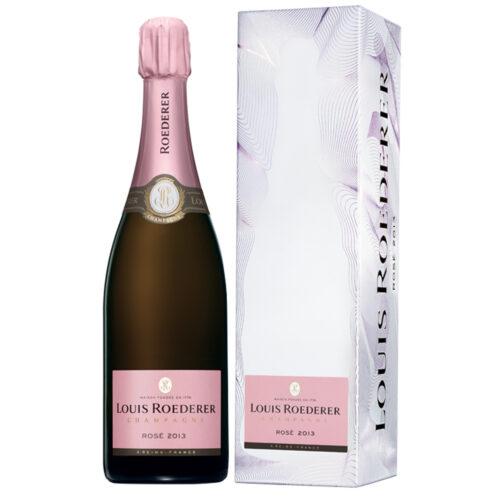 Champagne Louis Roederer Rosé 2014 bouteille avec étui - Champmarket