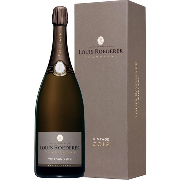 Champagne Louis Roederer Brut Vintage 2012 Magnum avec coffret Luxe - Champmarket