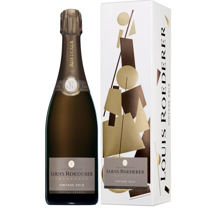 Champagne Louis Roederer Brut Vintage 2013 bouteille avec étui - Champmarket
