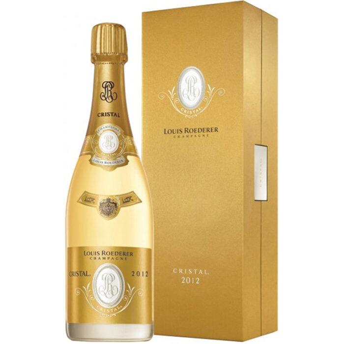 Champagne Louis Roederer Cristal Millésimé 2012 avec Coffret Luxe - Champmarket