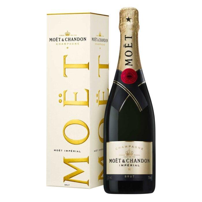 Champagne Moët & Chandon Brut Imperial Bouteille avec étui - Champmarket