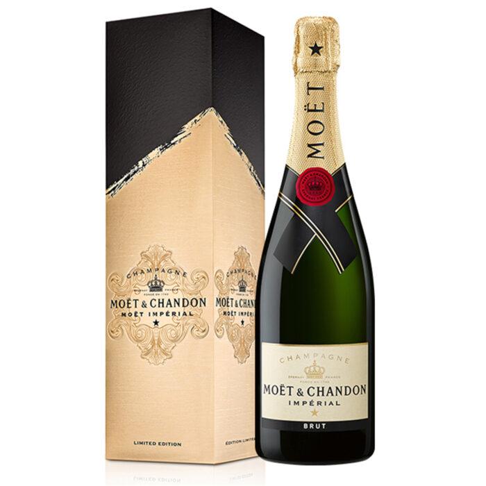 Champagne Moët & Chandon Brut Imperial Édition Signature Bouteille - Champmarket