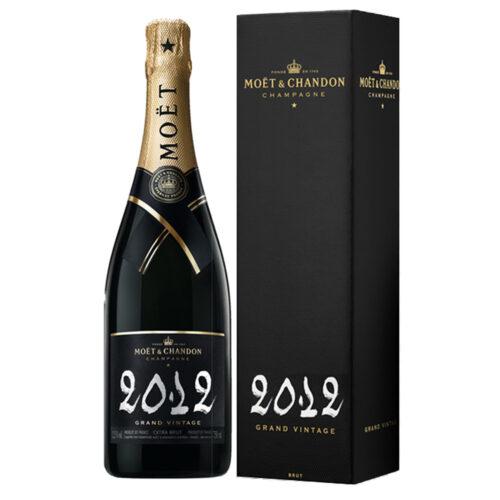 Champagne Moët & Chandon Grand Vintage 2012 Bouteille avec étui - Champmarket
