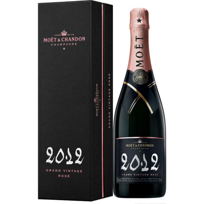 Champagne Moët & Chandon Grand Vintage 2012 Bouteille avec coffret - Champmarket