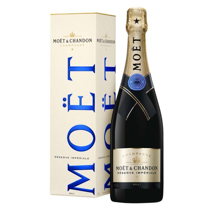 Champagne Moët & Chandon Réserve Impériale Bouteille avec étui - Champmarket