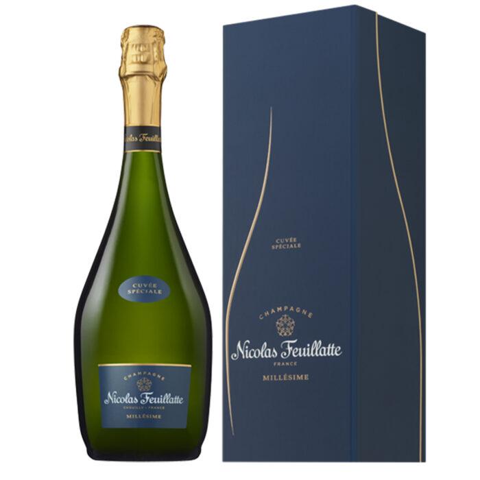 Champagne Nicolas Feuillatte Cuvée Spéciale Millésimée 2013 Bouteille avec coffret - Champmarket