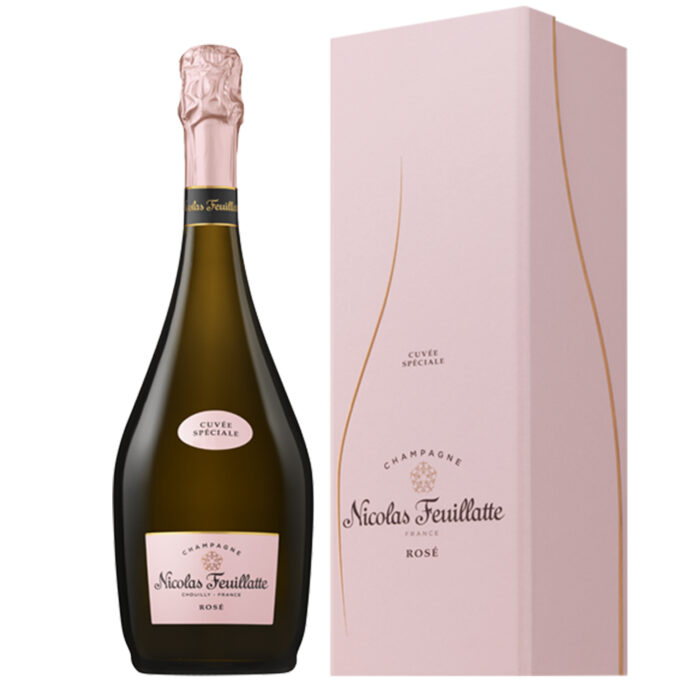 Champagne Nicolas Feuillatte Cuvée Spéciale Rosé Bouteille avec coffret - Champmarket