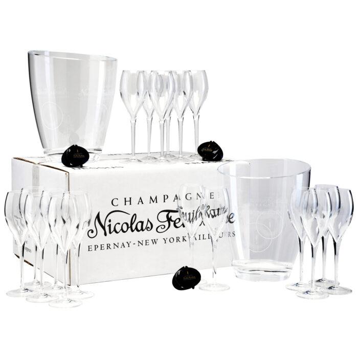 Champagne Kit Afterwork & Happy Hour Nicolas Feuillatte - Champmarket