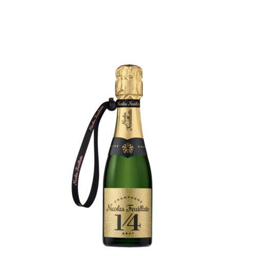 Champagne Nicolas Feuillatte One Four Brut Quart-de-Bouteille - Champmarket