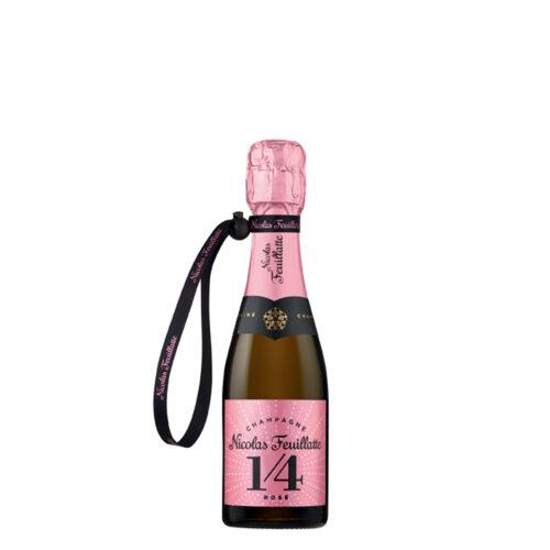 Champagne Nicolas Feuillatte One Four Rosé Quart-de-Bouteille - Champmarket