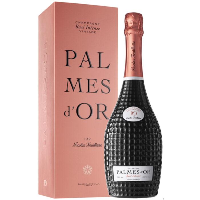 Champagne Nicolas Feuillatte Palmes d'Or Rosé Intense Vintage 2008 Bouteille avec coffret - Champmarket