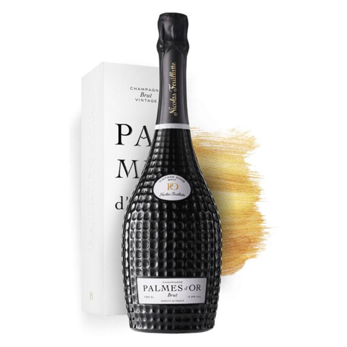 Champagne Nicolas Feuillatte Palmes d'Or Vintage 2008 Bouteille avec Coffret Luxe - Champmarket
