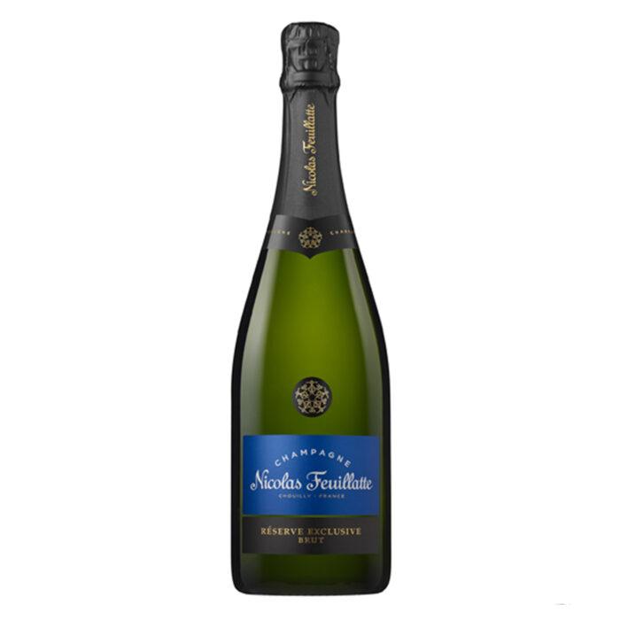 Champagne Nicolas Feuillatte Réserve Exclusive Brut Bouteille- Champmarket