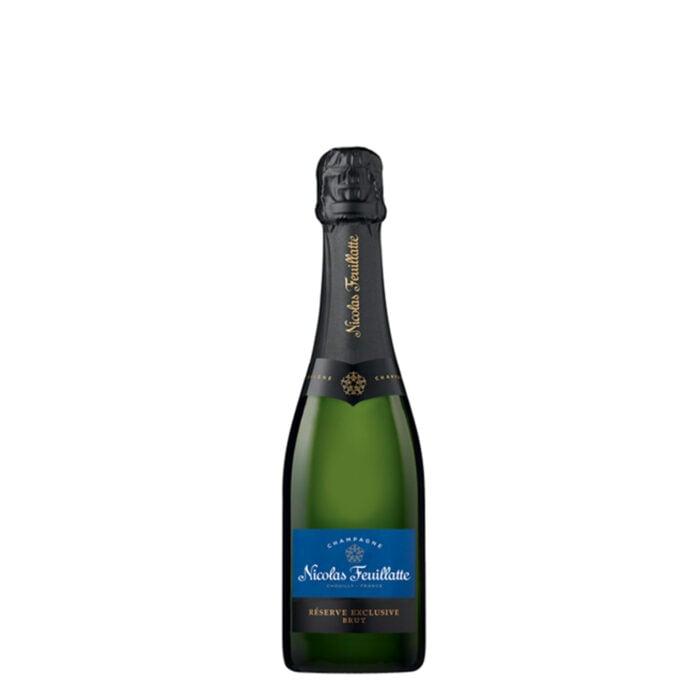 Champagne Nicolas Feuillatte Réserve Exclusive Brut Demi-Bouteille - Champmarket
