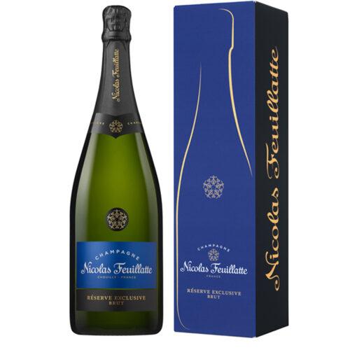 Champagne Nicolas Feuillatte Réserve Exclusive Brut Magnum avec étui - Champmarket