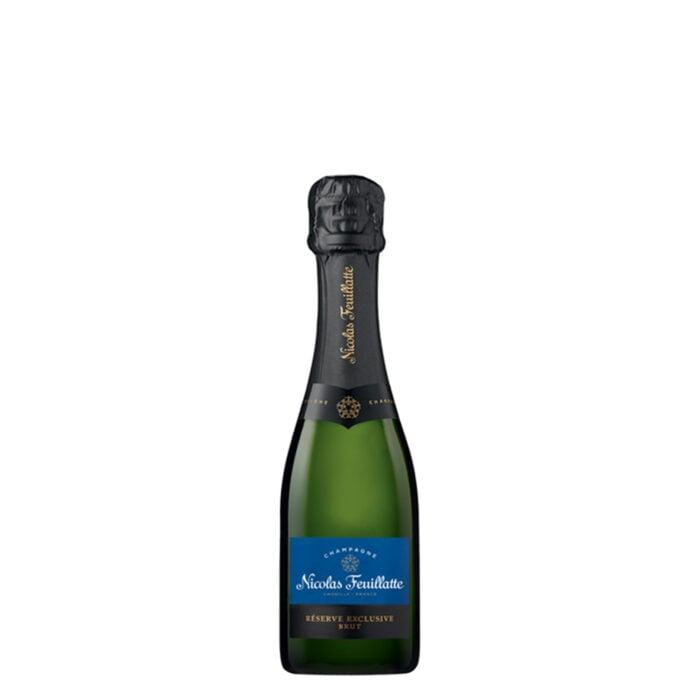 Champagne Nicolas Feuillatte Réserve Exclusive Brut quart-de-bouteille - Champmarket