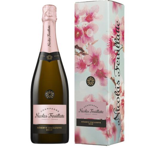 Champagne Nicolas Feuillatte Réserve Exclusive Rosé Édition Limitée étui Sakura - Champmarket