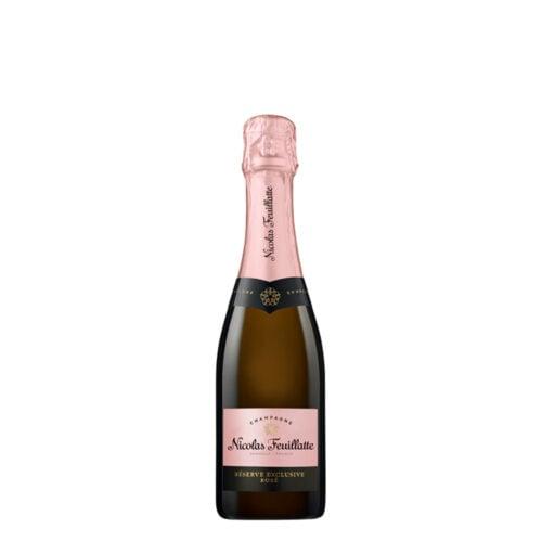 Champagne Nicolas Feuillatte Réserve Exclusive Rosé Demi-Bouteille - Champmarket