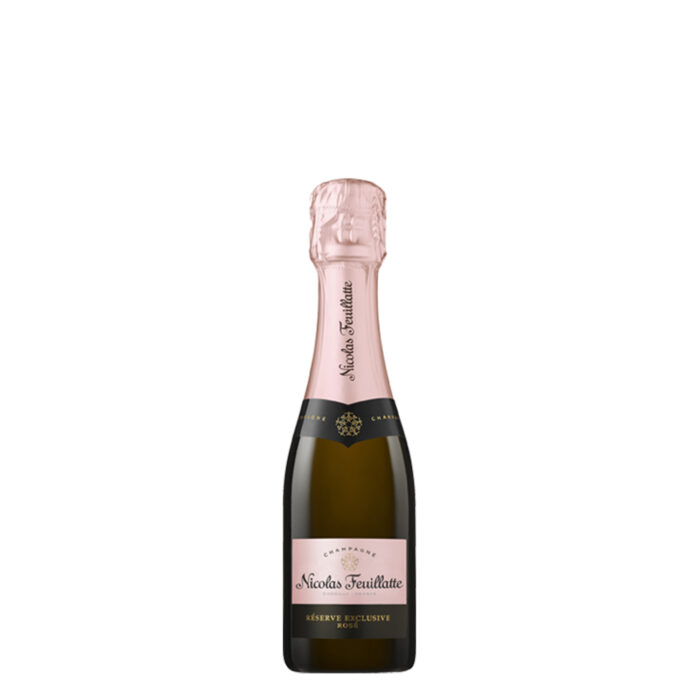 Champagne Nicolas Feuillatte Réserve Exclusive Rosé Quart-de-bouteille - Champmarket