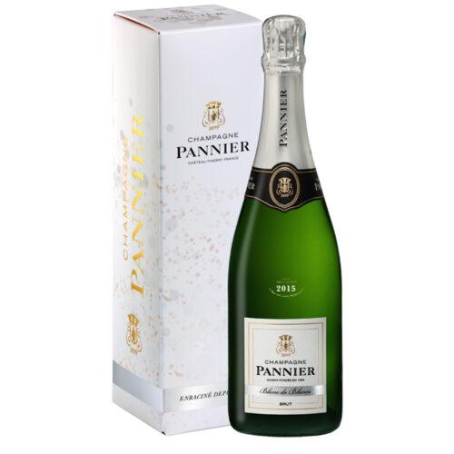 Champagne Pannier Blanc de Blancs Millésime 2015 Bouteille avec étui - Champmarket