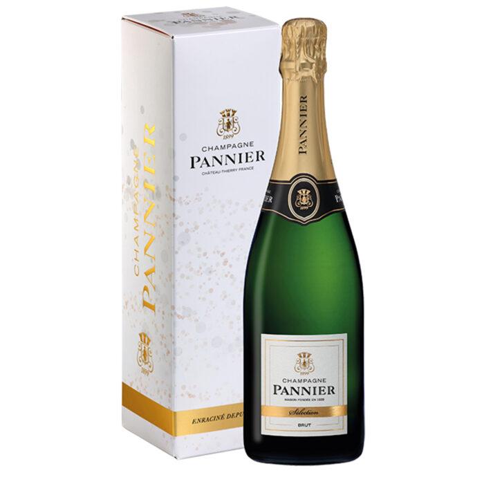 Champagne Brut Sélection Bouteille avec étui - Champmarket