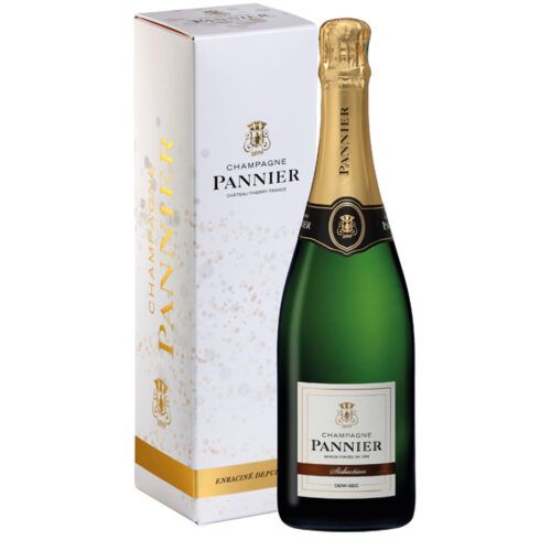 Champagne Pannier Demi-Sec Séduction Bouteille avec étui - Champmarket