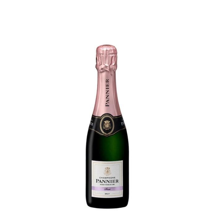 Champagne Pannier Brut Rosé Demi-Bouteille - Champmarket