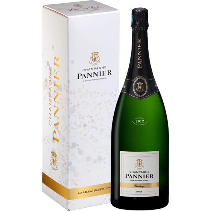 Champagne Pannier Vintage 2012 Magnum avec étui - Champmarket