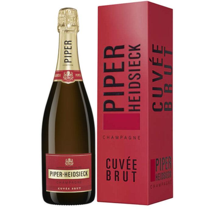 Champagne Piper-Heidsieck Cuvée Brut Bouteille avec étui - Champmarket