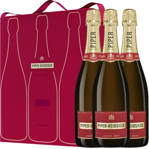 Champagne Piper-Heidsieck Cuvée Brut Coffret Tripack 3 Bouteilles - Champmarket