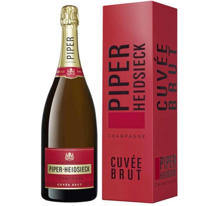 Champagne Piper-Heidsieck Cuvée Brut Magnum avec étui- Champmarket