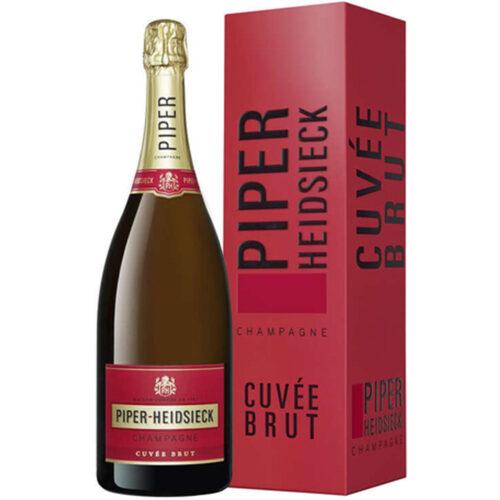 Champagne Piper-Heidsieck Cuvée Brut Magnum avec étui - Champmarket