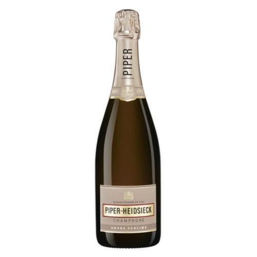 Champagne Piper-Heidsieck Cuvée Sublime bouteille avec étui - Champmarket
