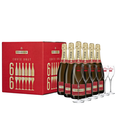 Champagne Piper-Heidsieck Cuvée Brut Flute Party Case - Champmarket