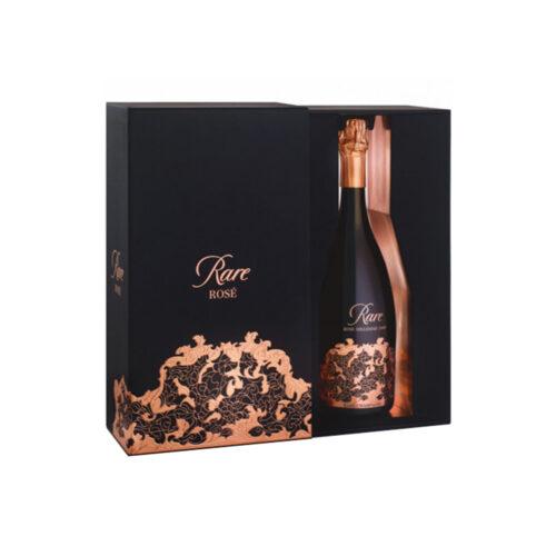 Champagne Rare Rosé Millésime 2008 bouteille avec coffret - Champmarket