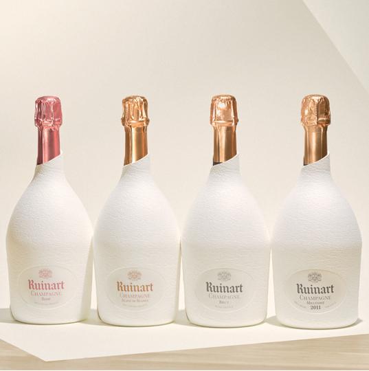 Champagne Ruinart étuis Seconde Peau - Champmarket