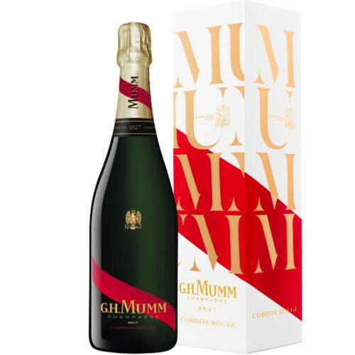 Champagne Mumm Cordon Rouge Brut bouteille avec étui - Champmarket
