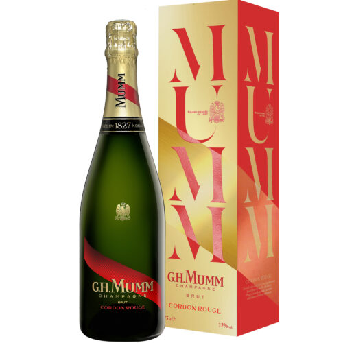 Champagne Mumm Cordon Rouge Brut Magnum avec étui - Champmarket
