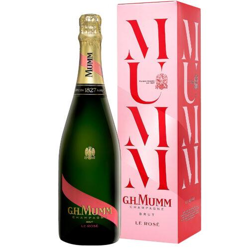 Champagne Mumm Le Rosé bouteille avec étui - Champmarket