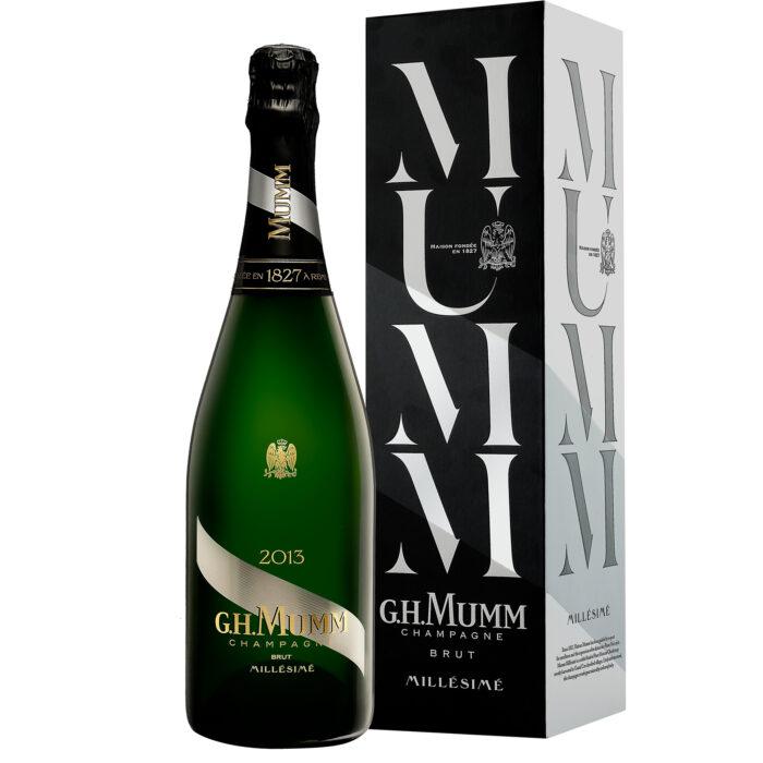 Champagne Champagne Mumm Millésimé 2013 bouteille - Champmarket avec étui - Champmarket
