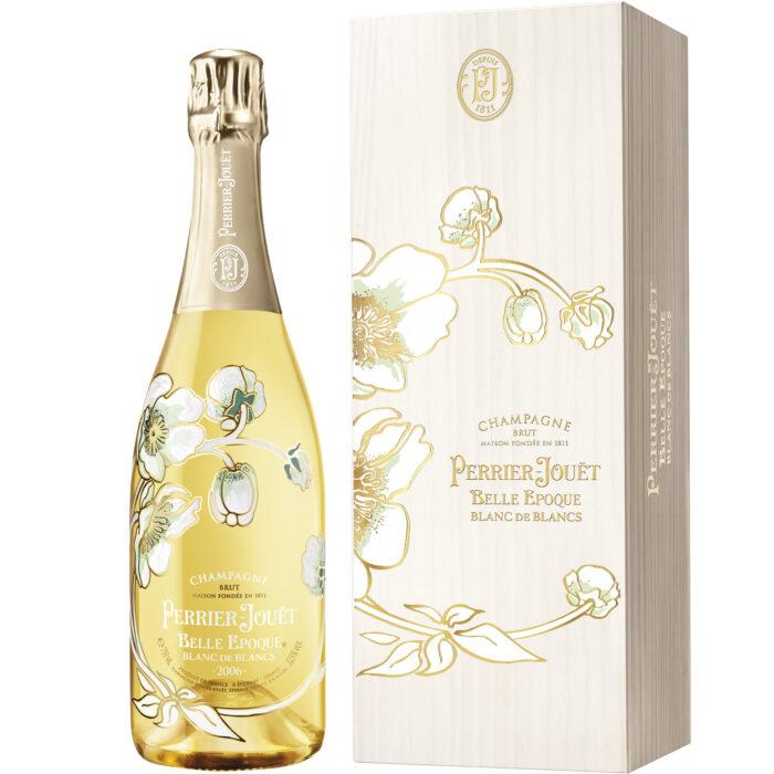 Champagne Perrier-Jouët Belle Époque Blanc de Blancs Millésimé 2006 bouteille avec coffret - Champmarket